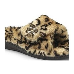 Leopard Relax Lux Slipper